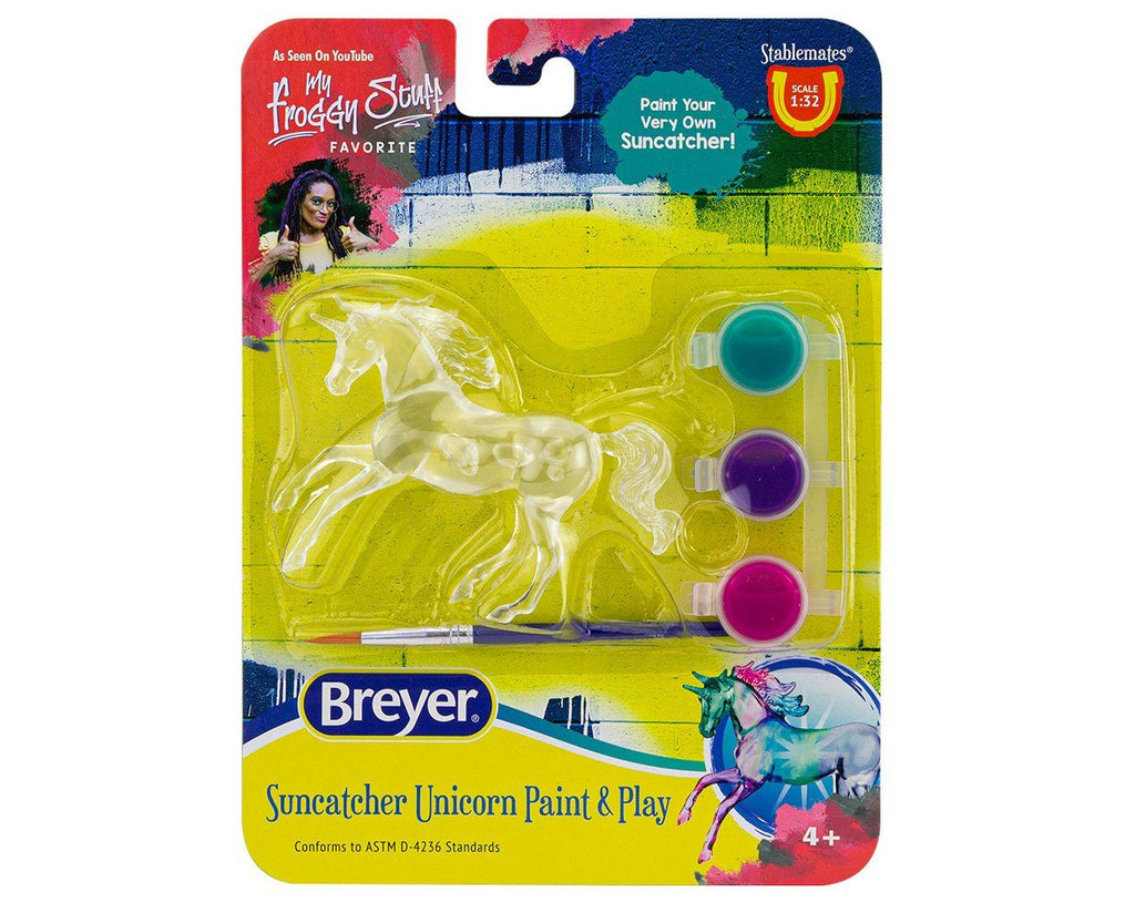 #4231D 1/32 Stablemates Unicorn Paint & Play