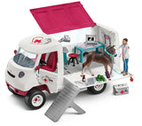 #42370 1/20 Mobile Vet Set with Hanoverian Foal