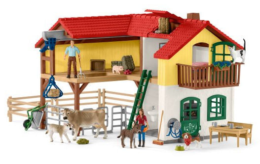 #42407 1/20 Large Farm House Playset