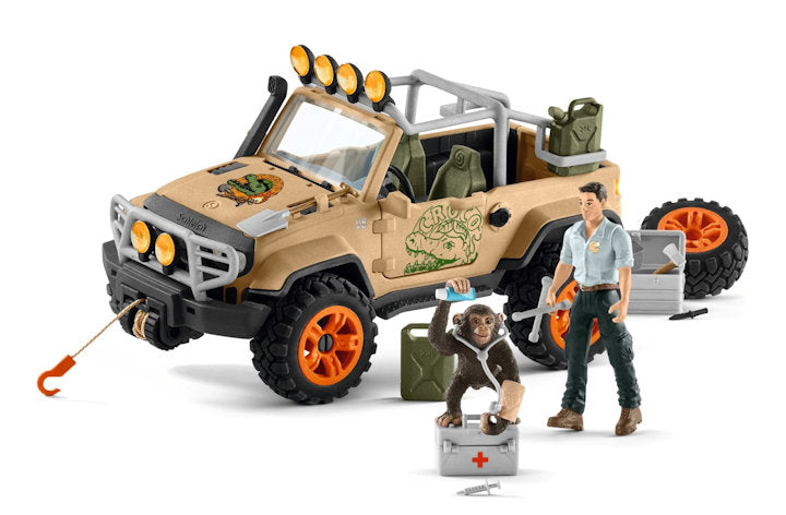 #42410 1/20 Wild Life 4x4 Vehicle with Winch