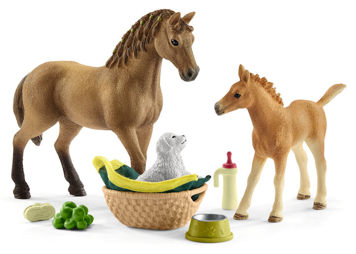 #42432 Horse Club Sarah's Baby Animal Care Set
