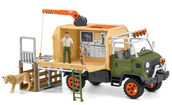 #42475 1/20 Animal Rescue Large Truck Playset
