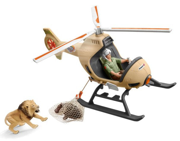 #42476 1/20 Animal Rescue Helicopter Set