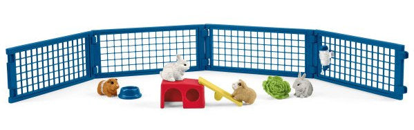 #42500 Rabbit & Guinea Pig Hutch Set