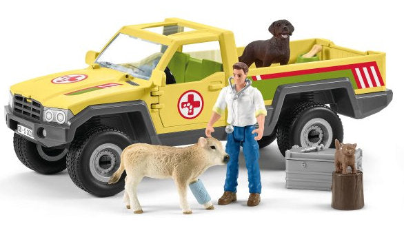 #42503 1/20 Veterinarian Visit to the Farm Playset