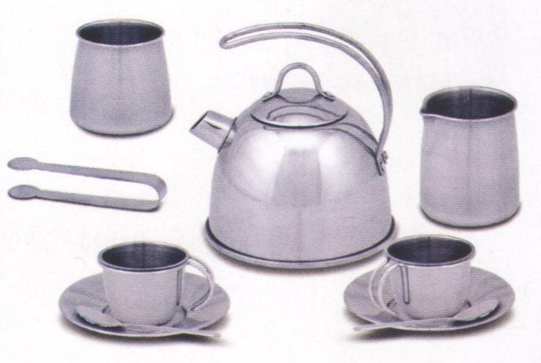 #4251 Stainless Steel Tea Set