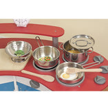 #4265 Stainless Steel Pots & Pans Set
