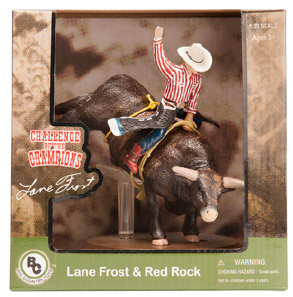 #438BC 1/20 Lane Frost & Red Rock Bull Riding Set