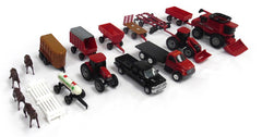 #44091 1/64 Case-IH 20-pc Farm Toy Playset