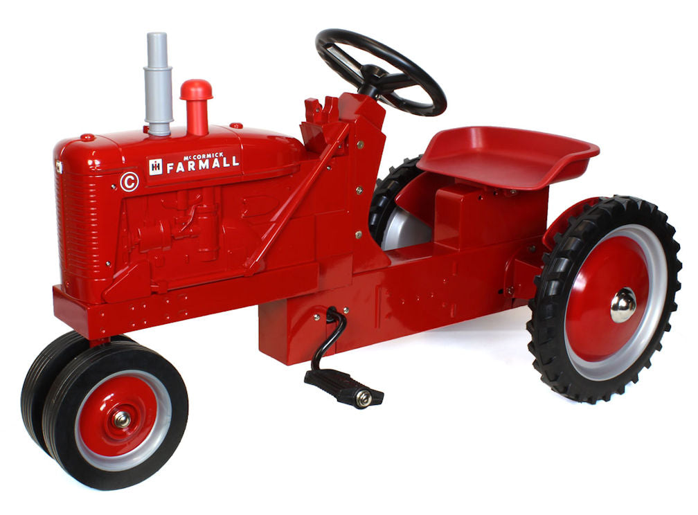 #44137 Farmall C Pedal Tractor, Narrow Front