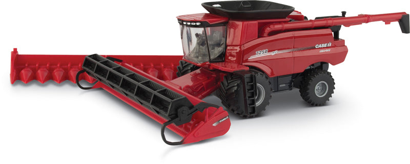 #44166 1/64 Case-IH 7250 Axial-Flow Combine with 2 Heads
