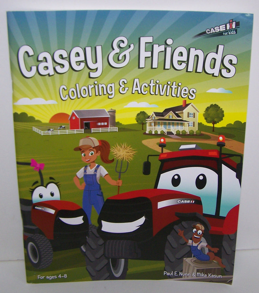 #44171 Casey & Friends Coloring & Activities Book