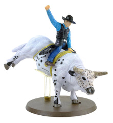 #442BC 1/20 PBR Smooth Operator Bull with Rider