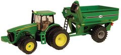 #45236 1/64 John Deere 8320R with Duals & J&M Grain Cart