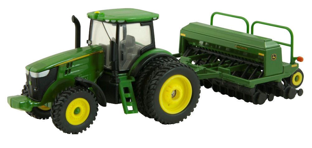 #45433 1/64 John Deere 7215R with Duals & 1590 Grain Drill