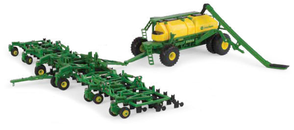 #45555 1/64 John Deere Air Seeder Set with 1870 Air-Hoe Drill & C850 Commodity Cart