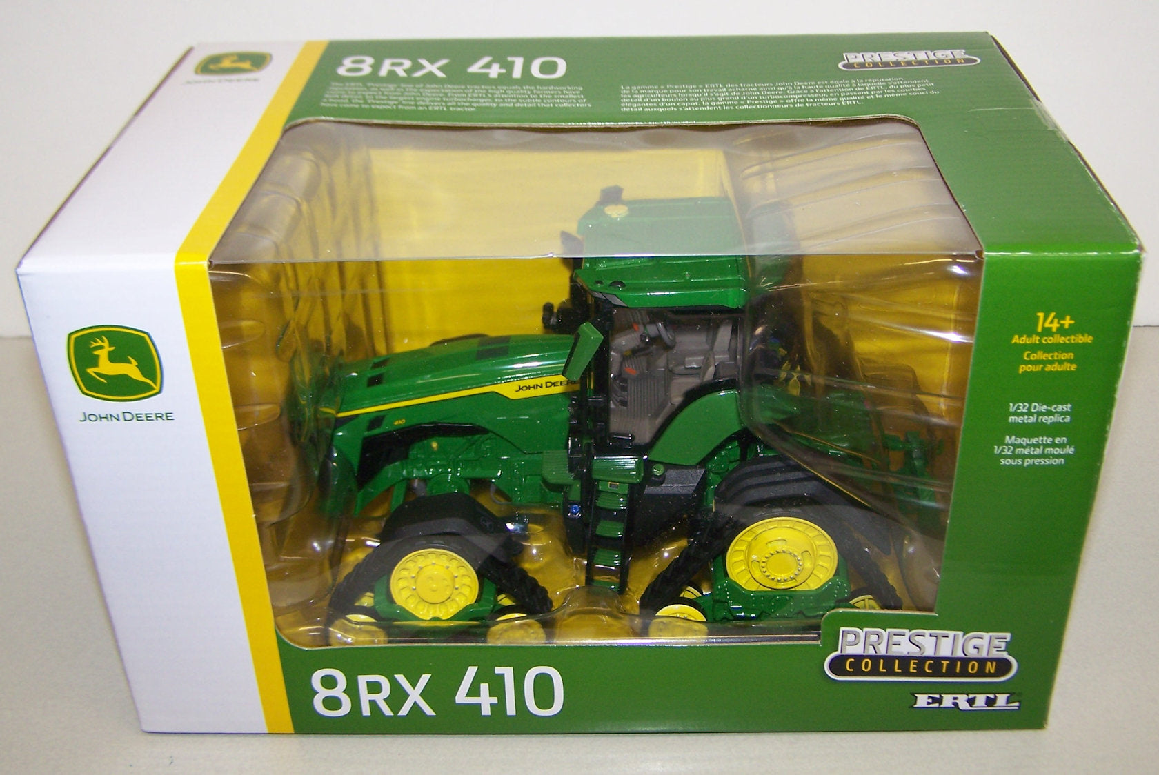 #45707 1/32 John Deere 8RX 410 Track Tractor, Prestige Collection