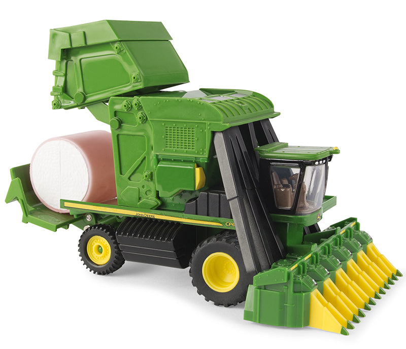 #45725 1/64 John Deere CP690 Cotton Picker with Pink Bale