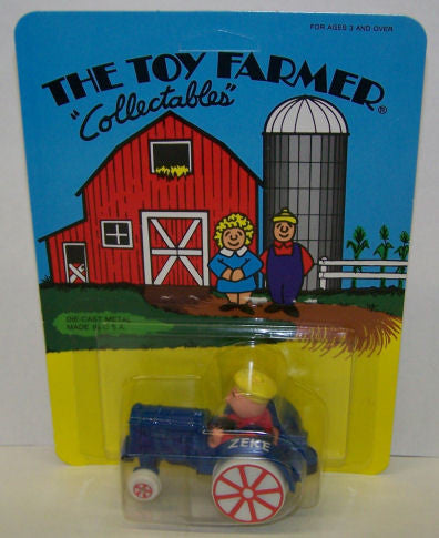 #4574 Toy Farmer Zeke on Tractor