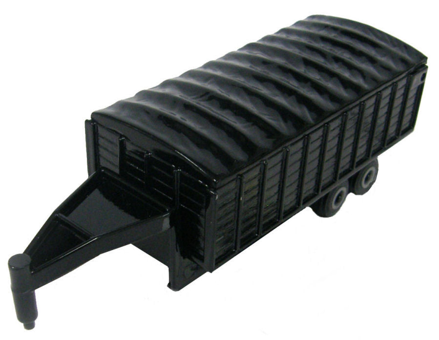 #46594 1/64 Black Gooseneck Grain Trailer