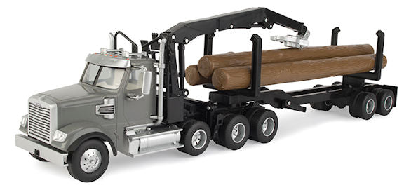 #46702 1/32 Freightliner 122SD Logging Truck with Logs