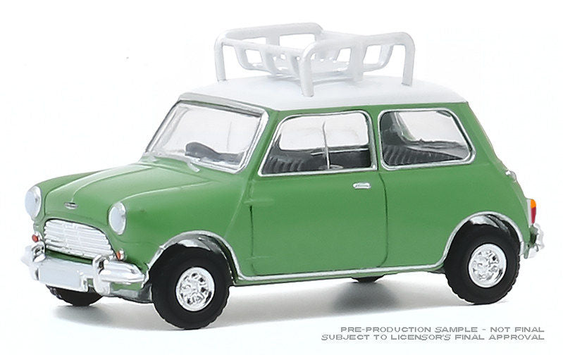 #47080-A 1/64 1965 Austin Mini Cooper S with Roof Rack