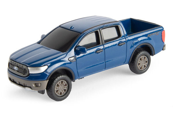 #47168A 1/64 Blue 2019 Ford Ranger XLT Pickup