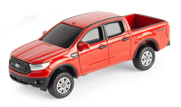 #47168B 1/64 Red 2019 Ford Ranger XLT Pickup