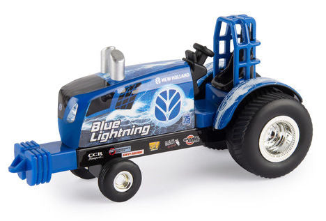 "#47230 1/64 New Holland ""Blue Lightning"" Puller Tractor"