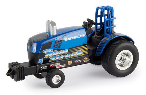 "#47268 1/64 New Holland ""The Blue Streak"" Puller Tractor"
