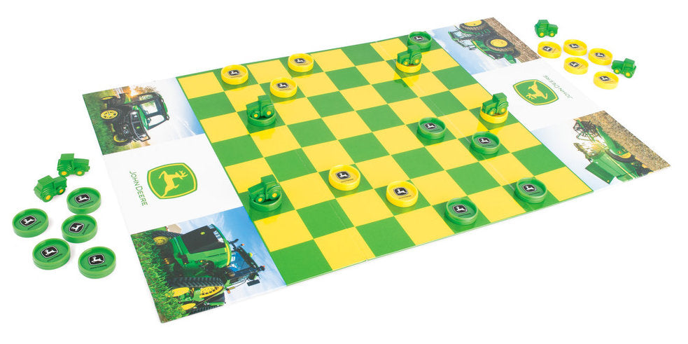 #47282 John Deere Checkers Game