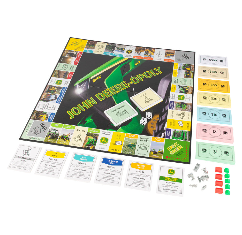 #47285 John Deere-Opoly Board Game