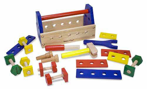 #494 Classic Wooden Take-Along Tool Kit