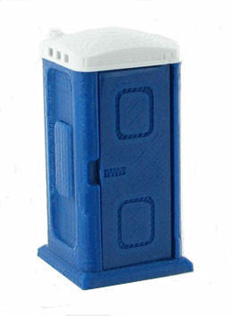 #50-141-BL 1/50 Blue Porta-Potty
