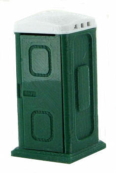 #50-141-DG 1/50 Dark Green Porta-Potty