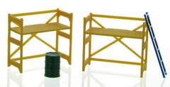 #50-150-Y 1/50 Yellow Scaffolding Set