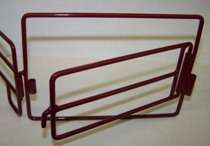 #500220 Red Metal Gate
