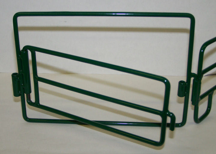 #500221 Green Metal Gate