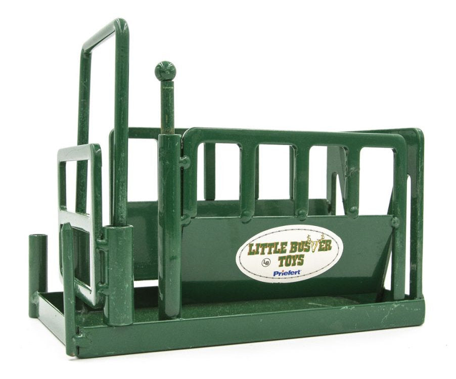#500235 Green Metal Squeeze Chute