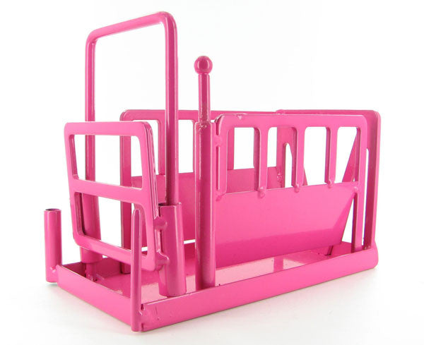 #500236 Pink Metal Squeeze Chute