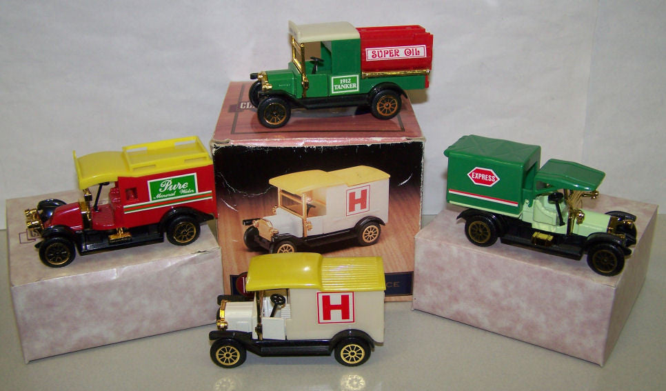 #501504 1/43 Classic Trucks 4-pc. Set