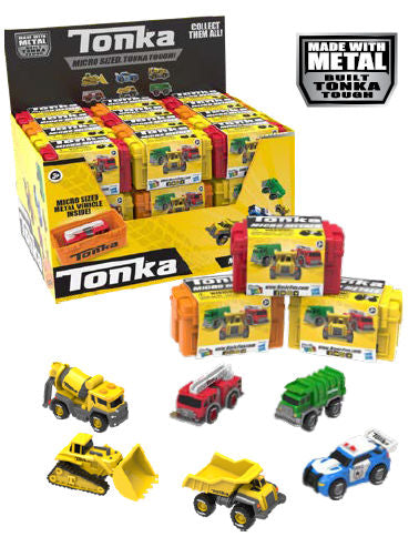 #6041 Tonka Micro Metals Mystery Single Pack