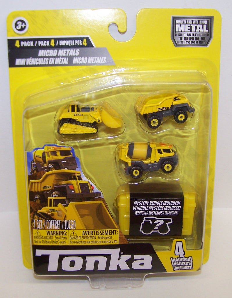 #6056 Tonka Micro Metal Construction Set