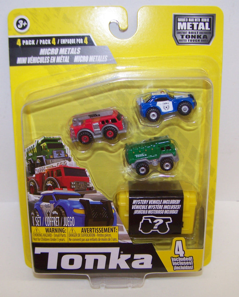 #6057 Tonka Micro Metals City Fleet Set