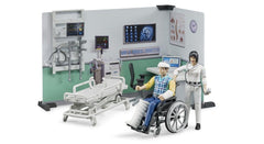 #62711 1/16 Bworld Urgent Care Playset