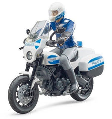 #62731 1/16 Scrambler Ducati Police Motorcycle with Policeman