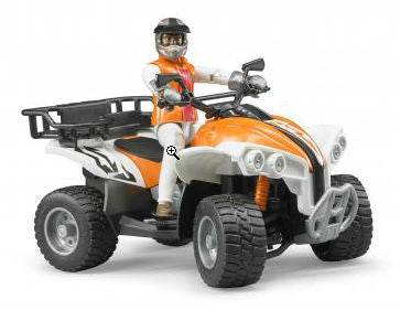 #63000 1/16 Bworld Quad with Rider