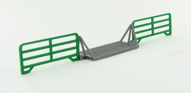 #64-312-GR 1/64 Cattle Guard Crossing Set