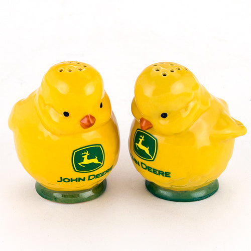 #6938 John Deere Chicks Salt & Pepper Shaker Set