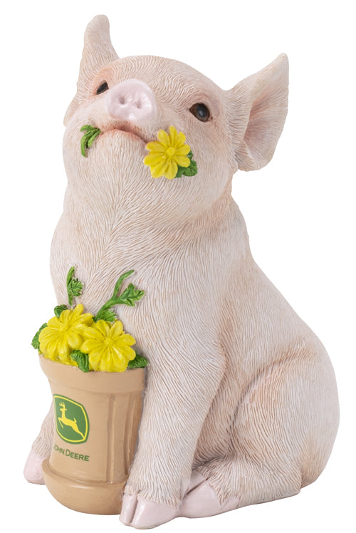 #6986 John Deere Piglet Savings Bank